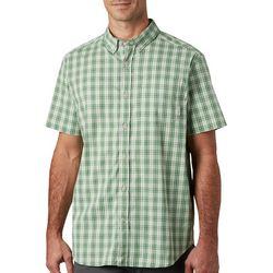 Columbia Mens Rapid Rivers II Plaid Shirt