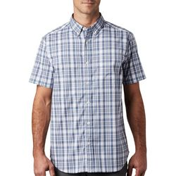 Columbia Mens Rapid Rivers II Plaid Pattern Shirt
