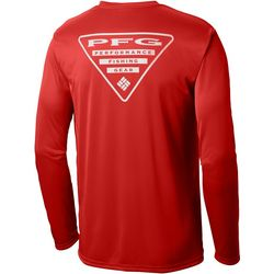Columbia Mens Terminal Tackle PFG Triangle T-Shirt