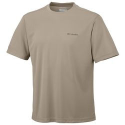 Columbia Mens Meeker Peak Solid Short Sleeve T-Shirt