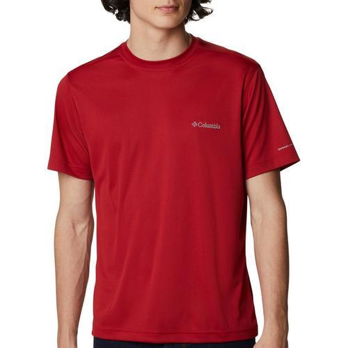 Columbia New Patriotic Light Logo Short Sleeve T-Shirt Men/'s Large Navy
