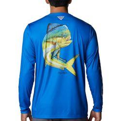 Columbia Mens Carey Chin Long Sleeve T-Shirt