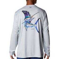 Columbia Mens Carey Chen Swordfish Long Sleeve T-Shirt