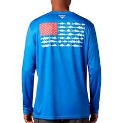 Mens PFG Terminal Tackle Fish Flag T-Shirt