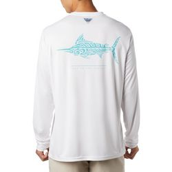 Columbia Mens PFG Terminal Tackle Swordfish Tribal T-Shirt