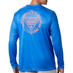 Columbia Mens PFG Terminal Tackle Global T-Shirt