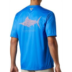 Columbia Mens PFG Terminal Tackle Swordfish Print T-Shirt