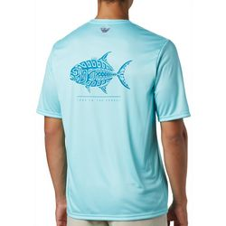 Columbia Mens PFG Terminal Tackle Fish Tribal Print