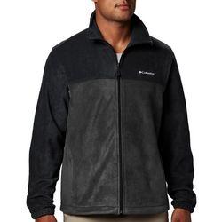 Mens Steens Mountain Colorblock Fleece Jacket