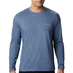 Columbia Mens Long Sleeve Thistletown Park Crew T-Shirt