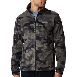 Mens Steens Mountain Camo Full Zip Jacket