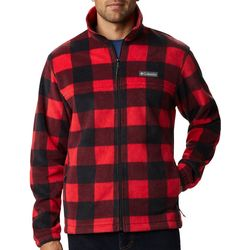 Columbia Mens Steens Mountain Checkered Full Zip Jacket