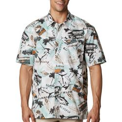 PFG Columbia Mens Trollers Best Short Sleeve Shirt