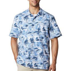 PFG Columbia Mens Short Sleeve Trollers Best Shirt
