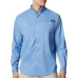 Mens Plaid Tamiami Long Sleeve Shirt