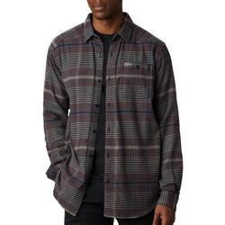 Columbia Mens Cornell Woods Flannel Long Sleeve Shirt