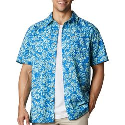 Columbia Mens Short Sleeve Super Slack Tide Shirt