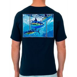 Guy Harvey Mens Off Shore Haul Tuna Short Sleeve T-Shirt