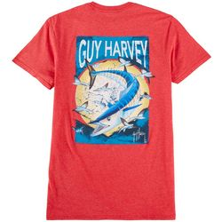 Guy Harvey Mens Offshore Haul Wahoo Short Sleeve