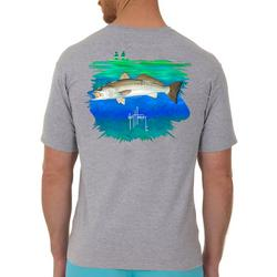 Mens In Shore Catch Trout Short Sleeve T-Shirt
