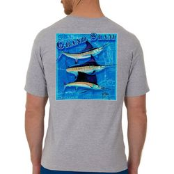Guy Harvey Mens Billfish Grand Slam Short Sleeve T-Shirt