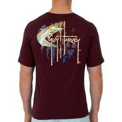 Guy Harvey Mens Wahoo! Short Sleeve T-Shirt