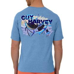 Mens Off Shore Haul Sailfish Short Sleeve T-Shirt