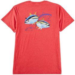 Guy Harvey Mens Tuna Dash Short Sleeve T-Shirt