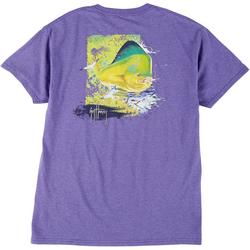 Mens Mahi Screen Print Short Sleeve T-Shirt