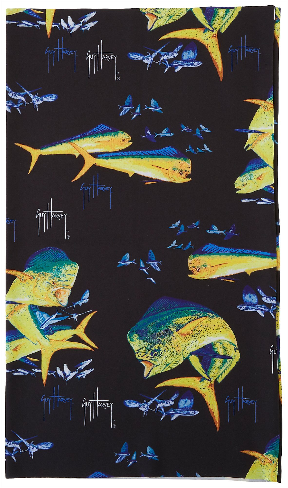Details about  /Guy Harvey Mens Dolphin Scale Face /& Neck Gaiter One Size Multi