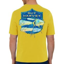 Guy Harvey Mens Mahi Shield Short Sleeve T-Shirt
