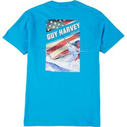 Guy Harvey Mens Jumping Marlin Short Sleeve T-Shirt