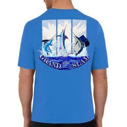 Guy Harvey Mens Guy Harvey Grand Slam Short Sleeve T-Shirt