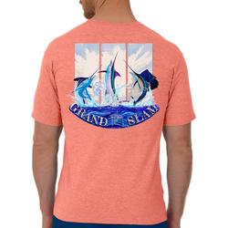 Mens Guy Harvey Grand Slam Short Sleeve T-Shirt