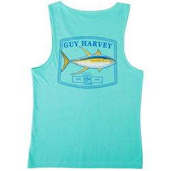 Guy Harvey Mens Logo Tank Top