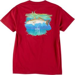 Mens Trout Short Sleeve T-Shirt