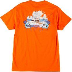 Guy Harvey Mens Out Fishing Short Sleeve T-Shirt