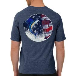 Mens Stars & Sailfish Short Sleeve T-Shirt
