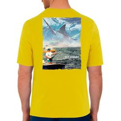 Mens Fishing Short Sleeve T-Shirt