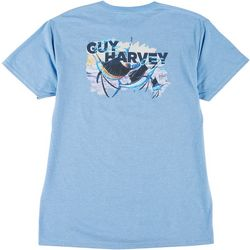 Guy Harvey Mens Offshore Sailfish Short Sleeve T-Shirt
