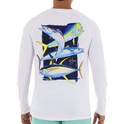 Guy Harvey Mens Offshore Slam Long Sleeve T-Shirt