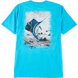 Mens Leap Sailfish Short Sleeve T-Shirt
