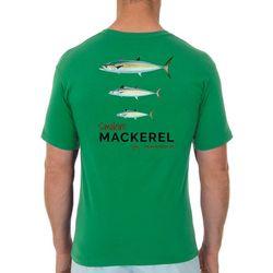 Guy Harvey Mens Smokin' Mackerel Short Sleeve T-Shirt
