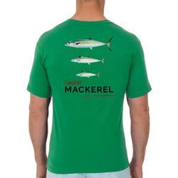 Mens Smokin' Mackerel Short Sleeve T-Shirt