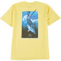 Guy Harvey Mens Swordfish Short Sleeve T-Shirt