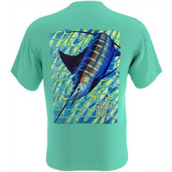 Guy Harvey Mens Yellowtail Game Short Sleeve T-Shirt