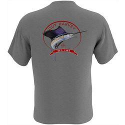 Guy Harvey Mens Core Sailfish Short Sleeve T-Shirt