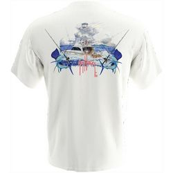 Guy Harvey Mens Billfish Short Sleeve T-Shirt