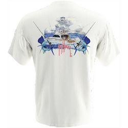 Guy Harvey Mens Billfish Short Sleeve T-Shirt