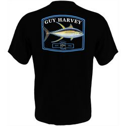 Guy Harvey Mens Original Yellowtail Short Sleeve T-Shirt